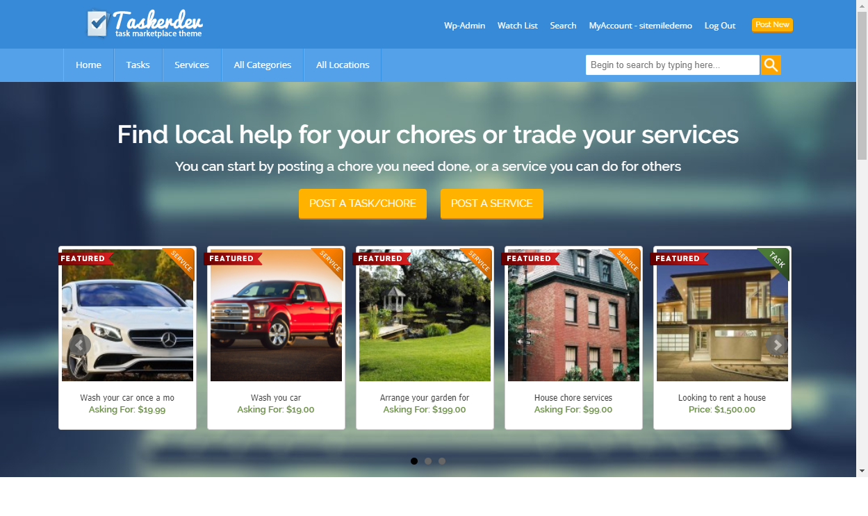 8+ Excellent WordPress Freelance Marketplace Themes for