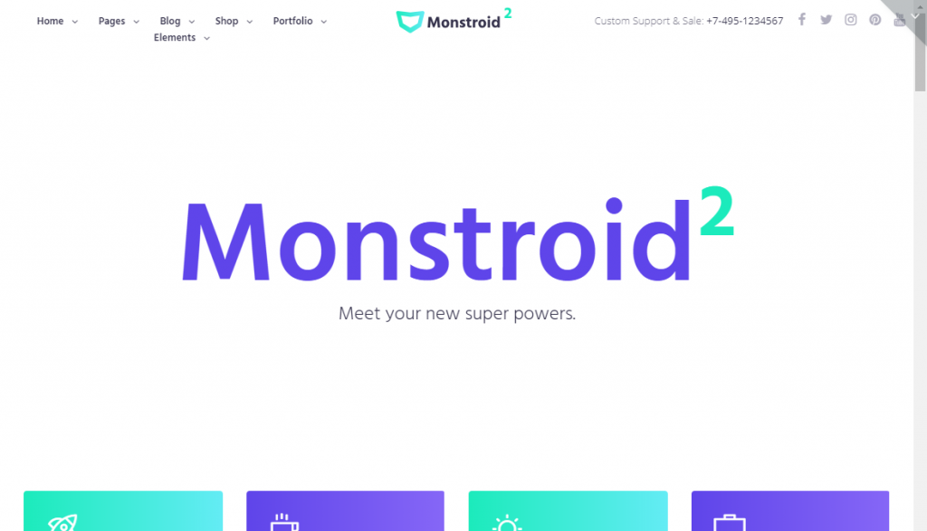monstroid2 wordpress theme