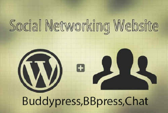 get your wordpress social site done for you