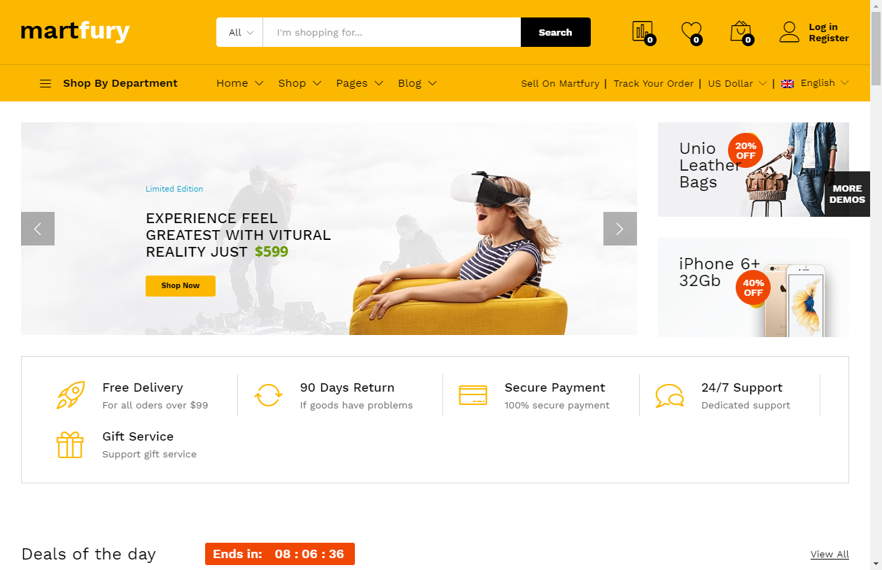 20+ Excellent Multi-Vendor WordPress Marketplace Themes