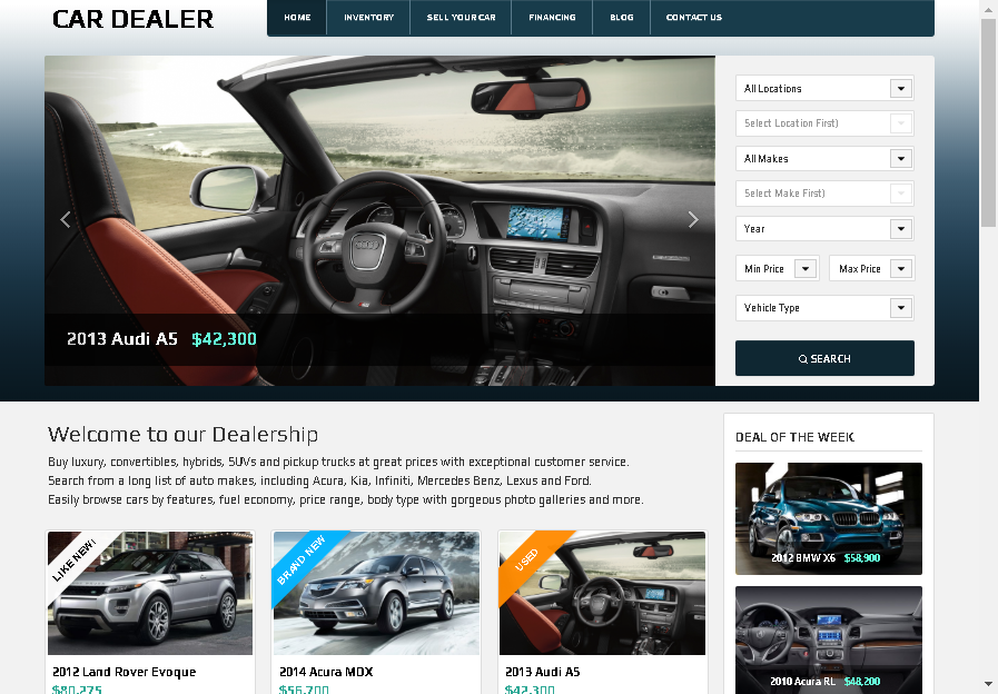16+ Best WordPress Car Dealer Themes for Automotive Sales in 2019