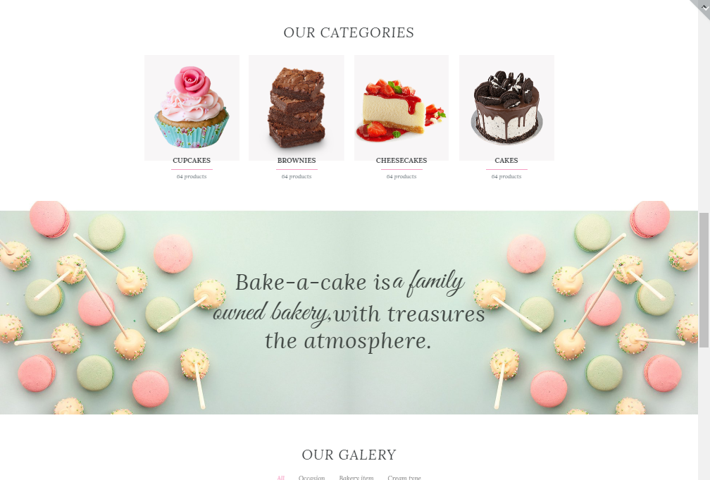 bake a cake wordpress theme