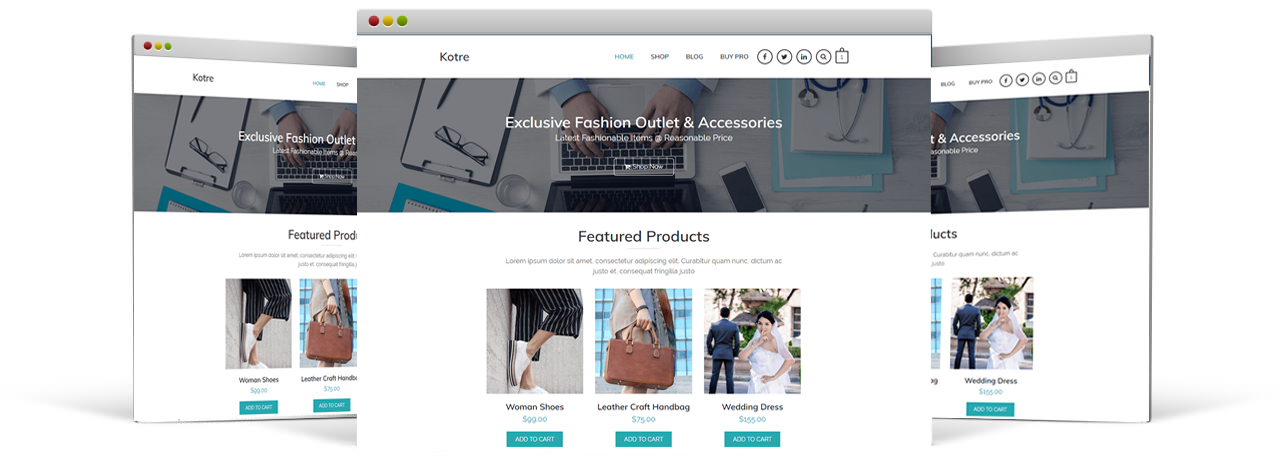 Kotre WordPress Theme