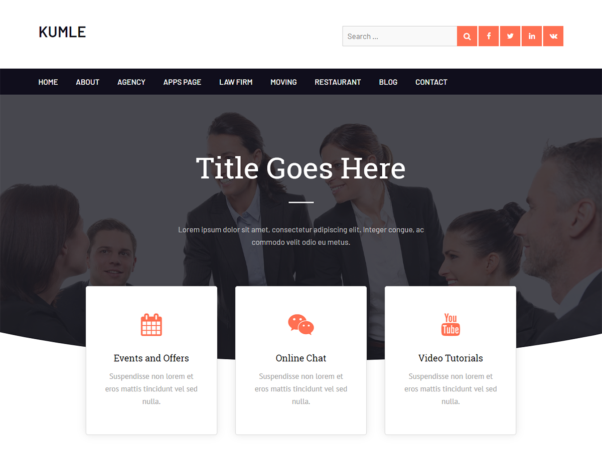 elementor compatible WordPress theme