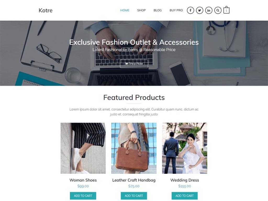 Kotre WordPress Theme
