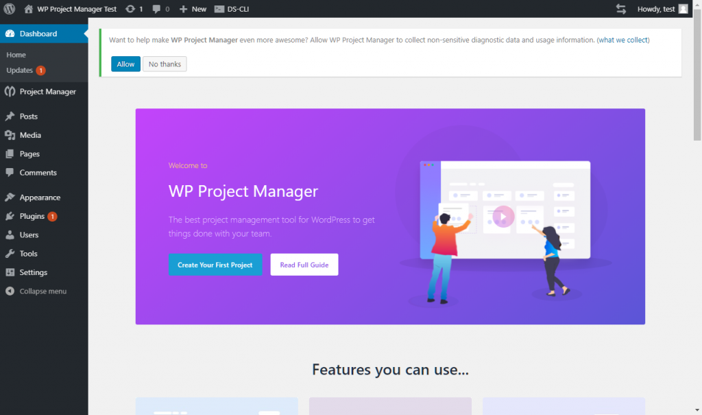 WP Project Manager Review